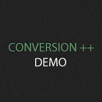 Conversion++ Demo Video